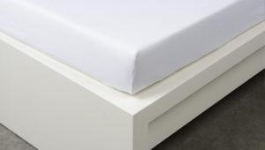 Jersey prostěradlo jednolůžko - bílá 90x200 cm, foto: RodinneBaleni.cz